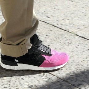 "Solebox x Saucony ""Pink Devil"" Shadow 5000"