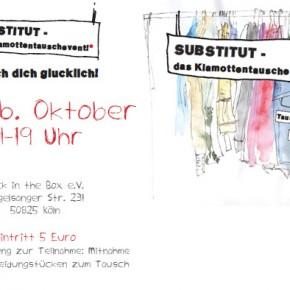 SUBSTITUT - das Klamottentauschevent + Free Tickets