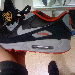 nike air max 90 eather