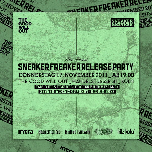 sneaker freaker release party