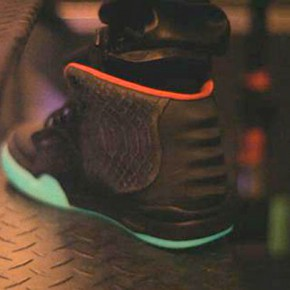 Nike Air Yeezy 2 - Black Pink