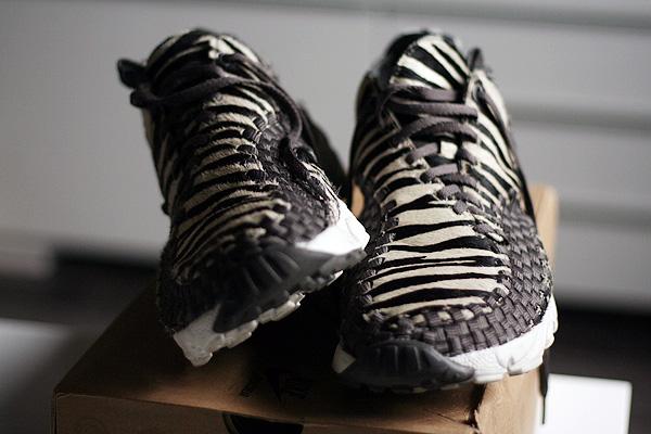 Nike Air Footscape Woven Chukka Zebra   sneakerb0b