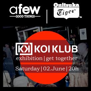 "KoiKlub Event beim Afew-Store zum Japantag 2012 + Asics Gel Lyte III ""KoiKlub"" Reworked by Afew"