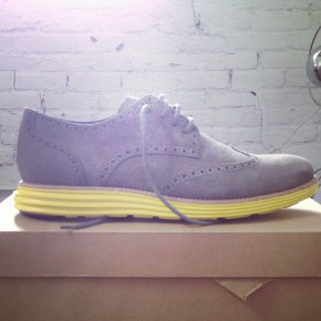Cole Haan LunarGrand - Charcoal Grey Suede