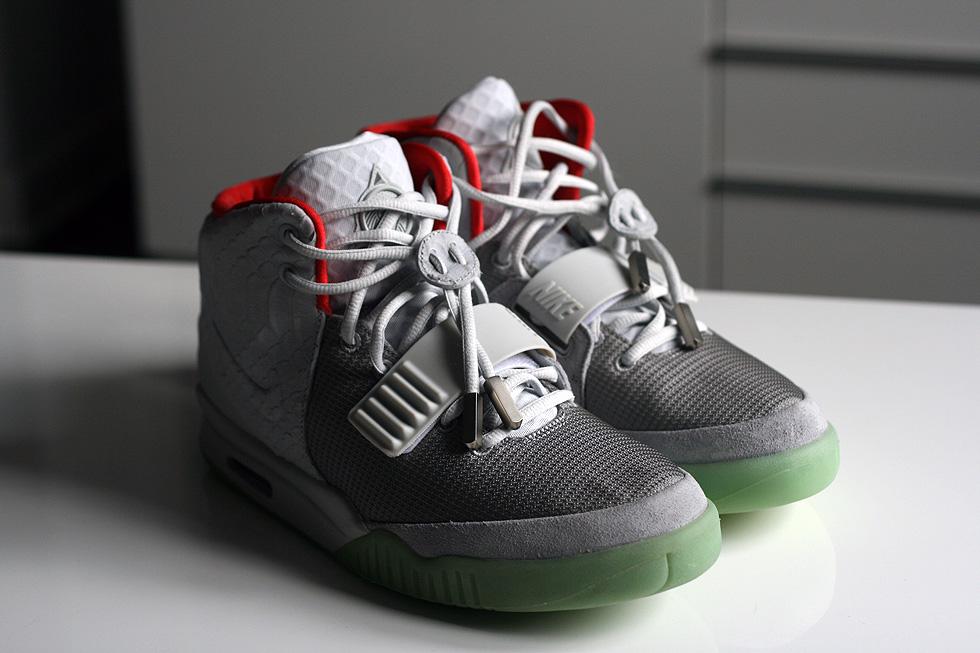 Nike Air Yeezy II – Wolf Grey Pure Platinum   sneakerb0b