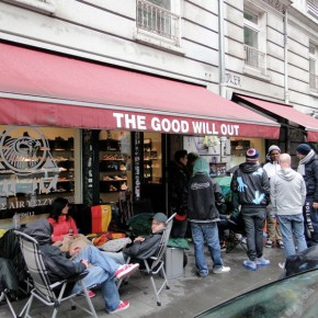 Nike AIR YEEZY II Campout bei THE GOOD WILL OUT