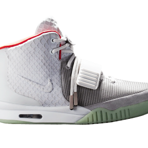 Nike Air Yeezy II - Wolf Grey / Pure Platinum