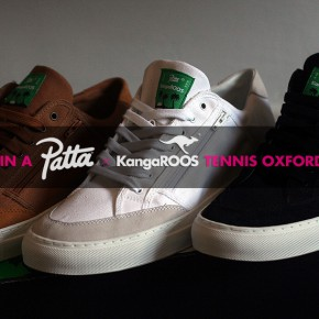 PATTA x KangaROOS Tennis Oxford