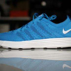 Nike Lunar HTM Flyknit - BLUE GLOW