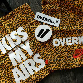 "Nike x OVERKILL"" Leopard Tote Bag Giveaway"