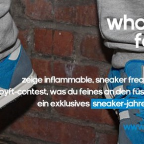 what's on your feet today contest