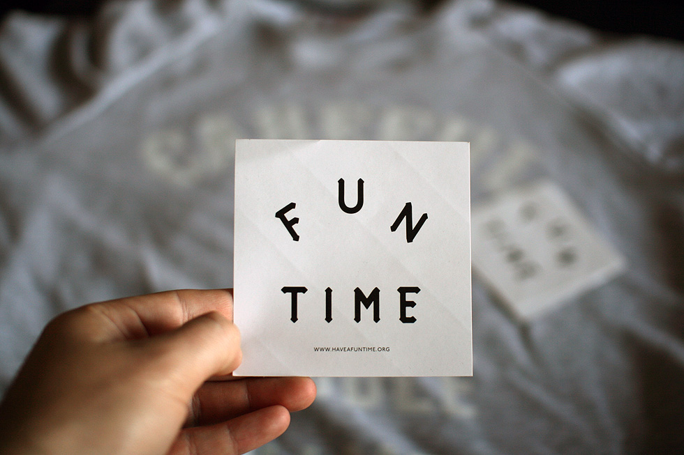 have a fun time