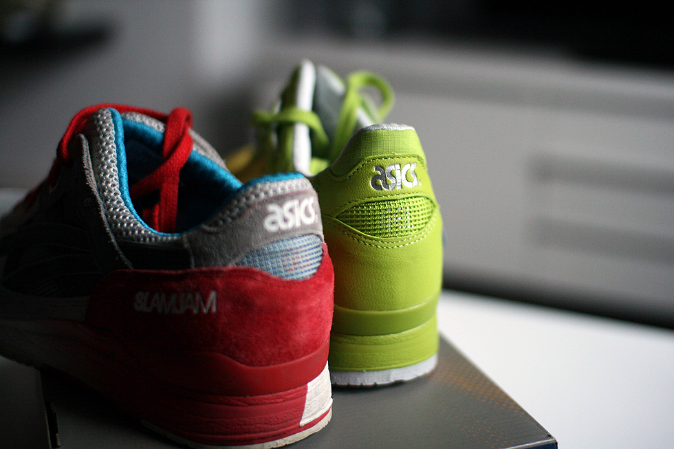 both slam jam asics