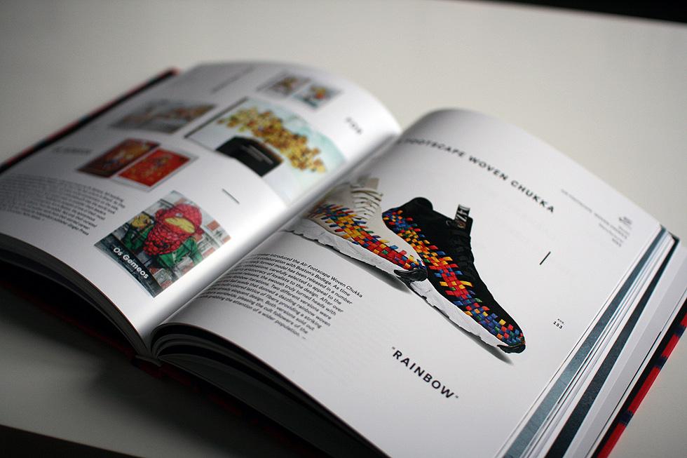 rainbow footscape