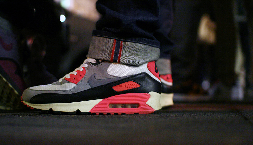 infrared air max vintage