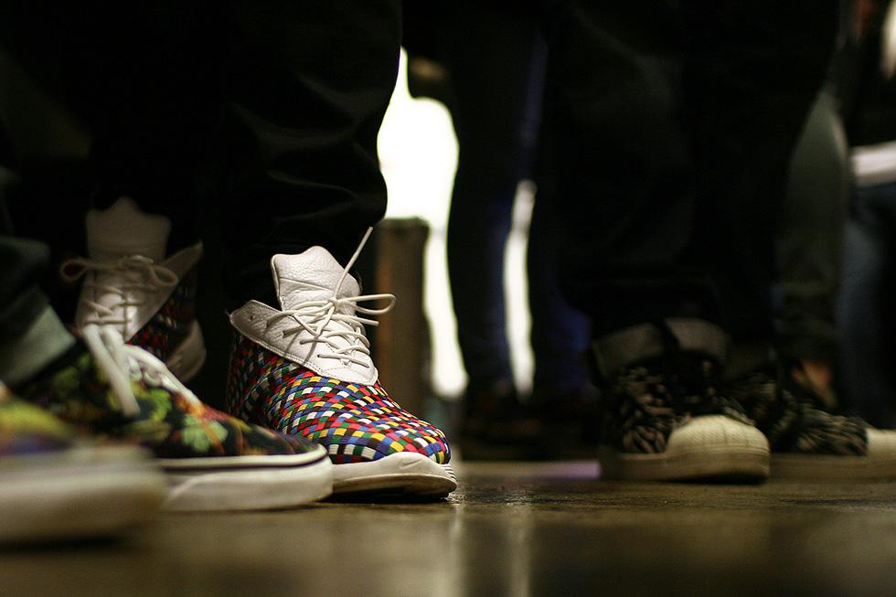 rainbow woven