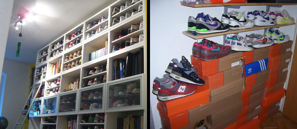 sneaker-lagerung