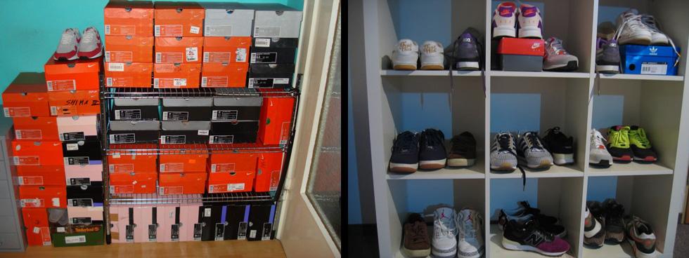 sneaker-sammlung