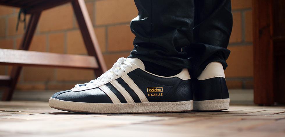 Adidas Gazelle Weiß Leder