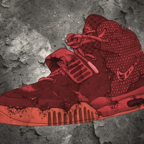 "AIR YEEZY 2 ""Red October"" Illustration + Gewinnspiel"