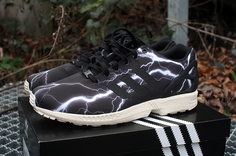 adidas ZX FLUX ,Lightning' - Black Elements Pack | sneakerb0b