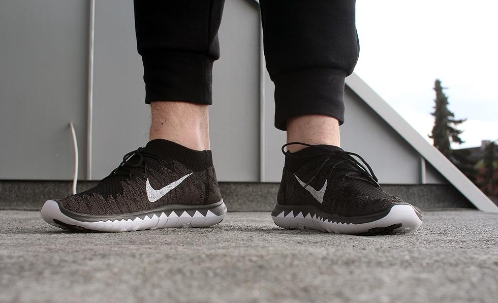 Nike Free Flyknit Herren Schwarz
