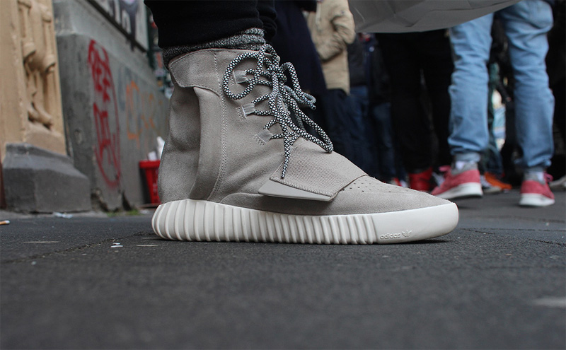 Adidas Yeezy Boost 750 On Feet