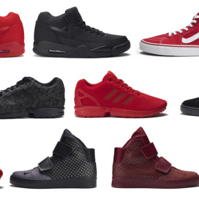 red-blck-foot-locker-collection