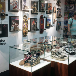 This is the Sk8-Hi - Vans Ausstellung im Sneakermuseum