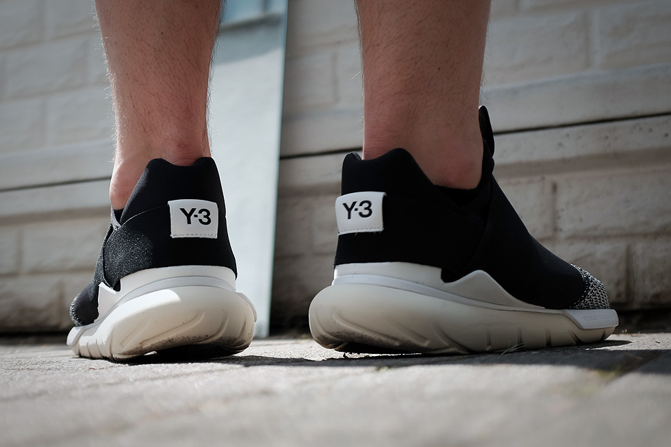 adidas y3 qasa on feet