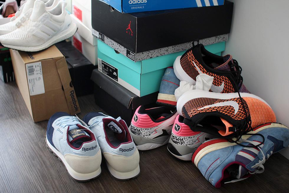 sneaker-verstauen