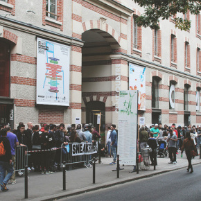SNEAKERNESS PARIS 2015 - follow me on snapchat