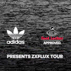 adidas Originals X Foot Locker Present ZX Flux Tour