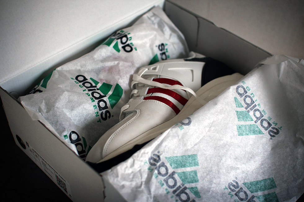 genuine shoes classic fit on feet shots of miadidas EQT Support – Family & Friends | sneakerb0b