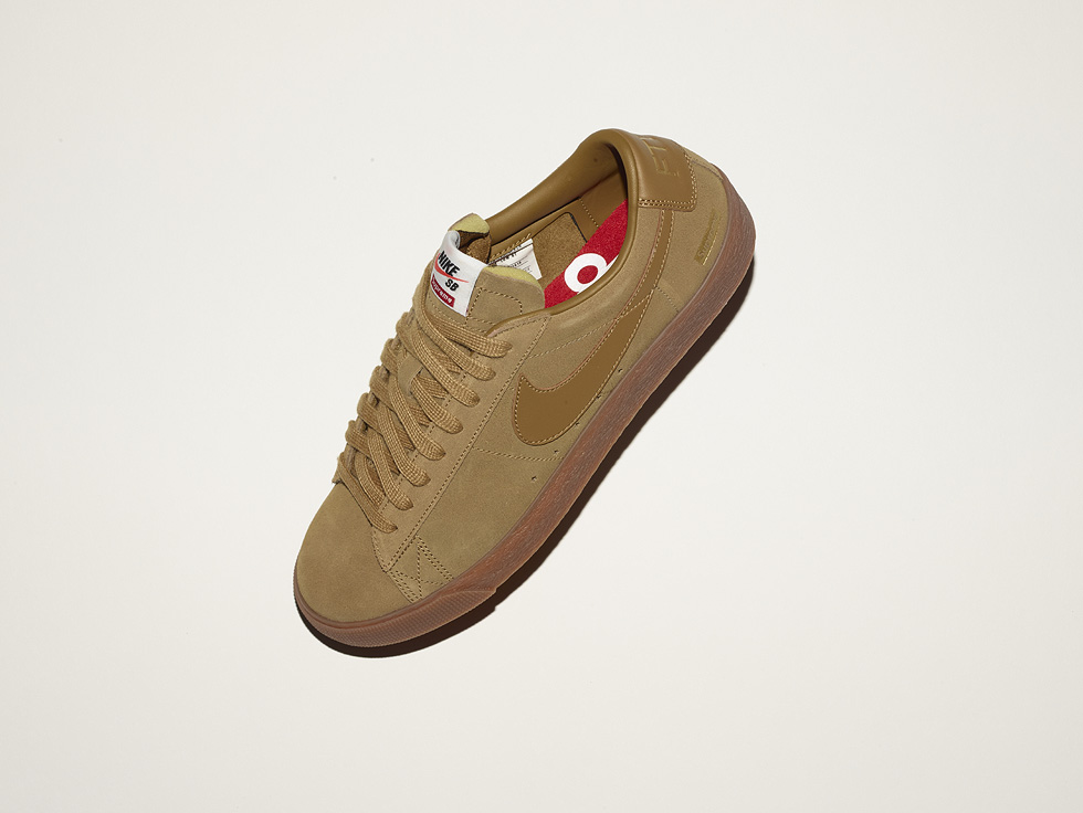 golden blazer supreme nike