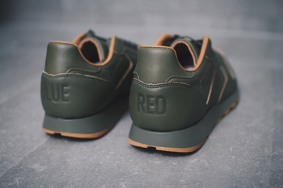 reebok kendrick leather classic green